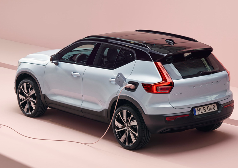 All-electric XC40 Recharge